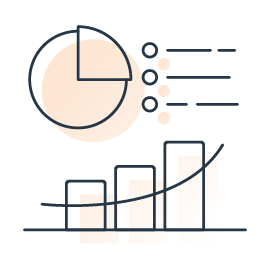 Illustration graphics and analytics
