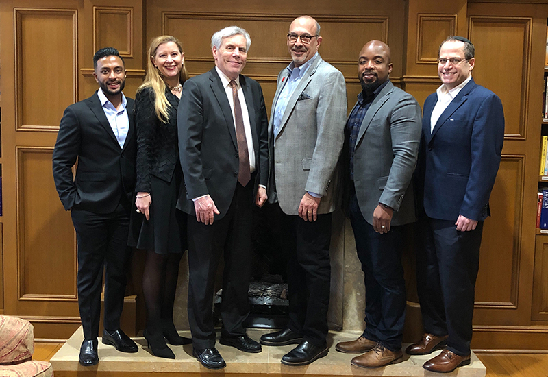 Fintel Connect CEO Participates in Clinton School of Public Service Speaker Series