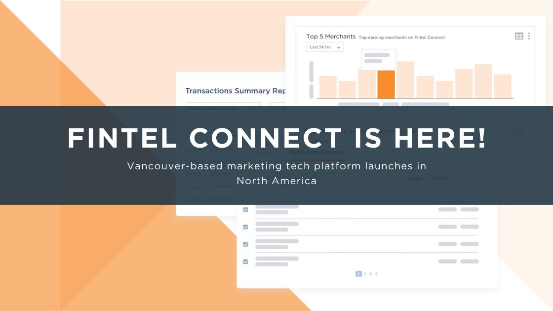 Fintel Connect Launch