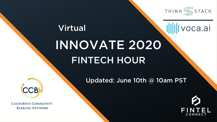 Fintech Innovate 2020