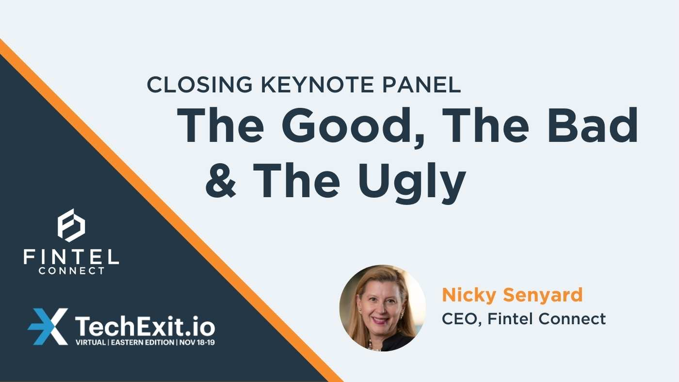 Fintel Connect Founder and CEO Nicky Senyard to Share Exit Experience at TechExit.io Closing Keynotes