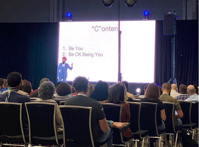 Keynote speaker at Fincon