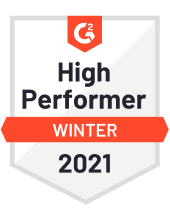 G2 High Performer Winter 2021